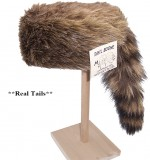 Coon Hats Fur and Faux Fur